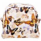 Monogrammed Butterfly Cosmetic Bag