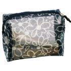 Flower Mesh Cosmetic Bag