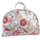 Large Floral Canvas Tote Bag