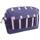 Stripe Toiletries Bag Personalised