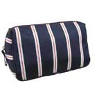 toiletry bag with zipper compartment