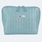 Satin Quilted Toiletry Bag