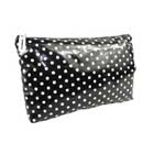 Cheap polka dot cosmetic bag