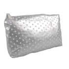 Cheap polka dot cosmetic bag