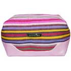 Bulk Stripe Cosmetic Bag