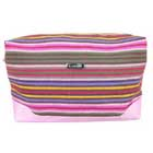Personalised Stripe Cosmetic Bag