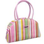 Handbag with Stripe Pattern
