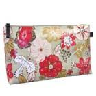 Medium Hibiscus Monogrammed Print Cosmetic travel bag