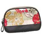 Small Hibiscus Print Makeup Pouch