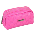 PU Quilted Cosmetic Bags Personalized