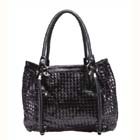 hand-woven leather handbags