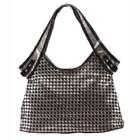 hand-woven leather handbags