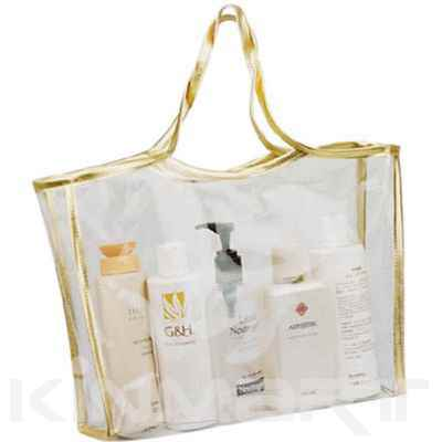 Transparent Cosmetic Tote Personalised