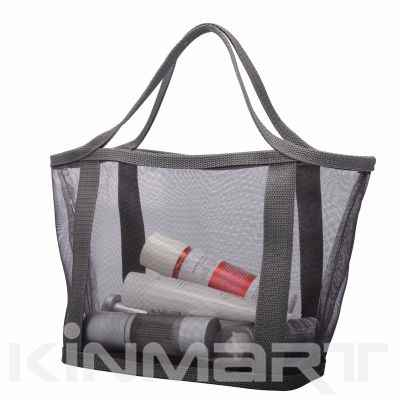 Nylon Mesh Tote Bag with Webbing Handle