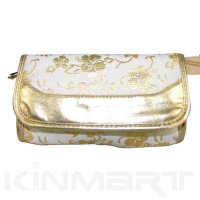 floral print cosmetic bags Monogrammed
