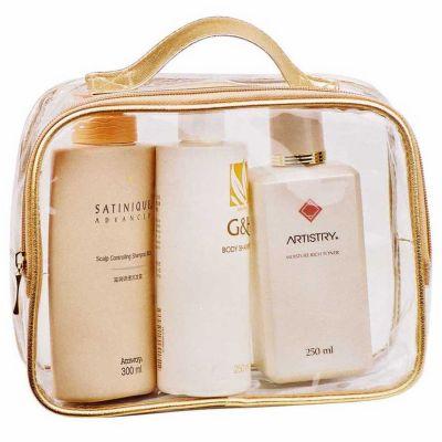 Personalised Clear PVC Cosmetic Packaging Bag
