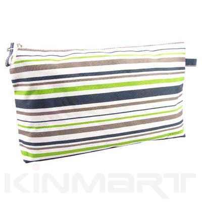 Personalised Stripe Kid Cosmetic Bags