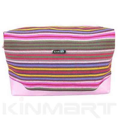 Personalised Stripe Cosmetic Bag