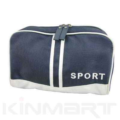 Men Embroidery Toiletry Bag