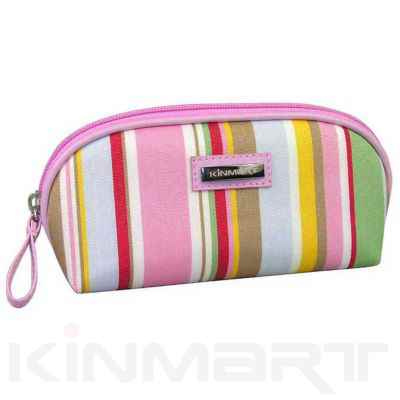 Stripe Pattern Cosmetic Bags