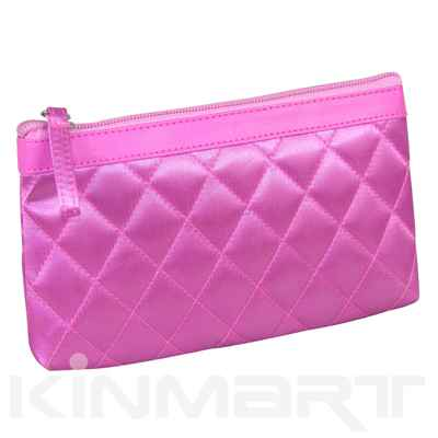 Quilted Cosmetic Pouches Monogrammed