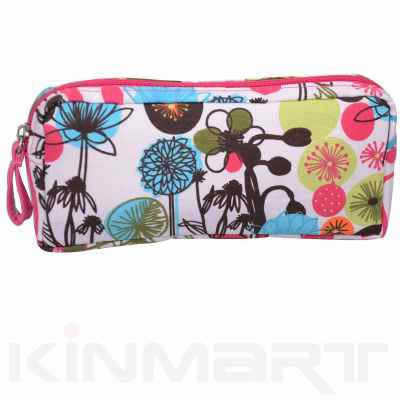Canvas Makeup Purse