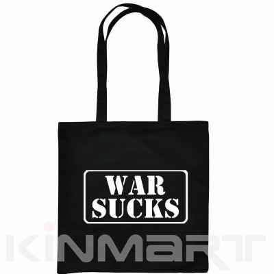 Monogrammable Canvas Tote Bag with Slogan or Logo