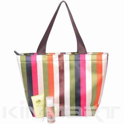 Stripe Tote Bag Monogram