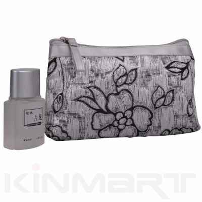 Luxury Embroidery Cosmetic Bag Monogrammed