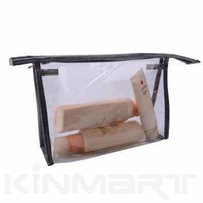 Clear Vinyl PVC Comsetic Packaging Bag