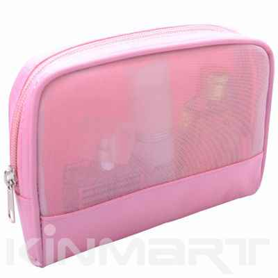 Mesh Cosmetic Bag Personalized