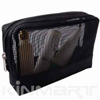 Mesh Cosmetic Bag Monogrammed