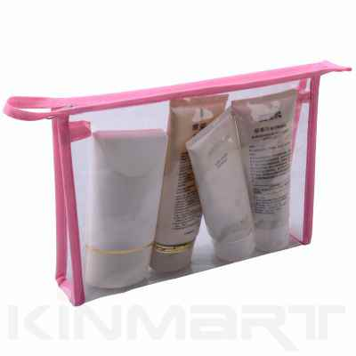 Cheap Clear Vinyl PVC Cosmetic Bag