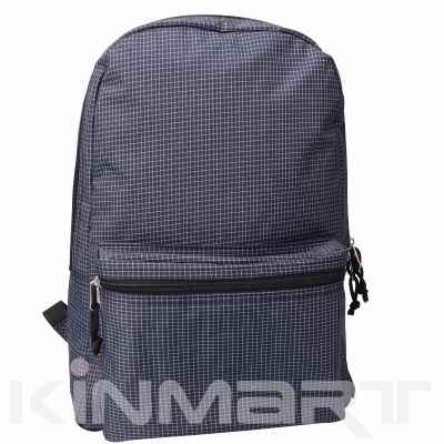 Nylon Check Backpacks