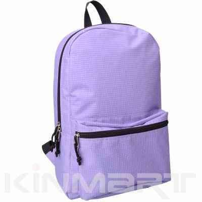Classic Style Nylon Check Backpack