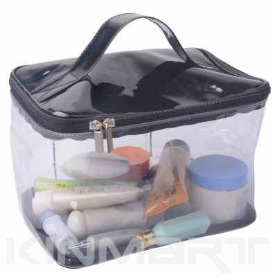 Large Clear PVC Vinyl Vanity Bag