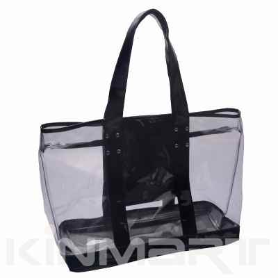 Large Vinyl Beach Bag