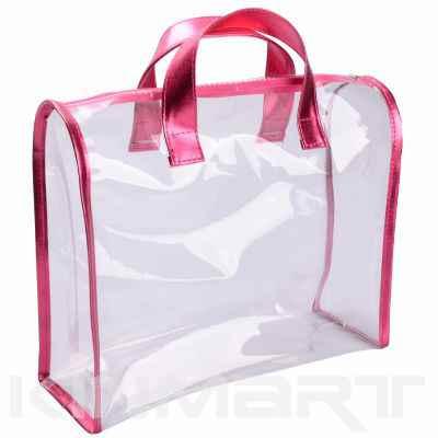 Monogrammed Clear Toilet Bag