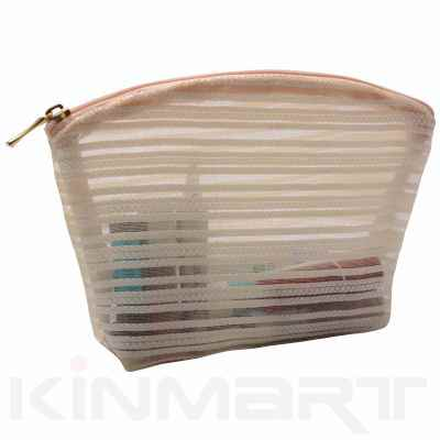 Mesh Cosmetic Pouch Personalised