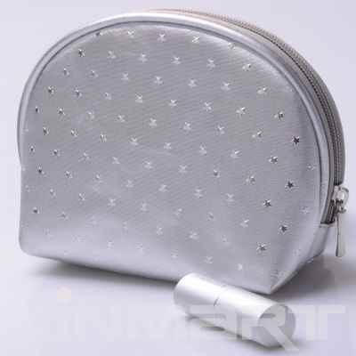 Semi-Circle Shape Cosmetic Bag Monogrammed