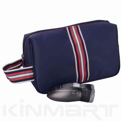 Elegant Men Toilet Bag with Handle Personalised