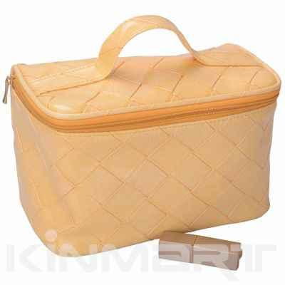 Fake Leather Vanity Bag