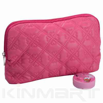 High Quality Quilted Cosmetic Bag Personalized