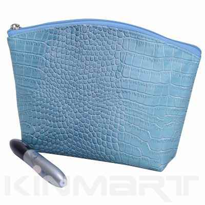 Croco Cosmetic Pouch