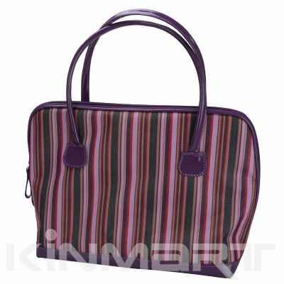 Stripe Cosmetic Tote Personalised