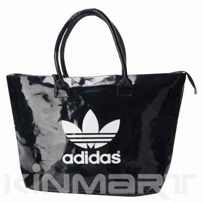 Personalized BOXY PVC Leather Shopping Bag