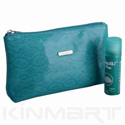 Personalised Snake Skin Cosmetic Bag
