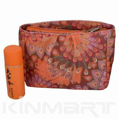 Nice Peacock Design Cosmetic Bag Personalized