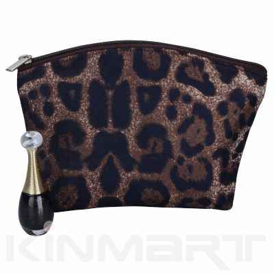 Leopard Print Design Cosmetic Pouch
