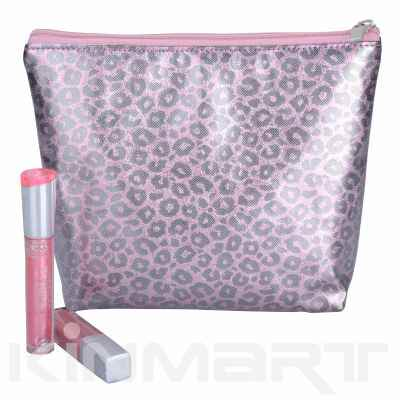 Shining Glam PVC Leather cosmetic bag Personalised
